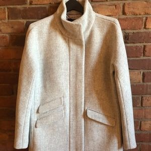 New J Crew Cocoon Coat size 6